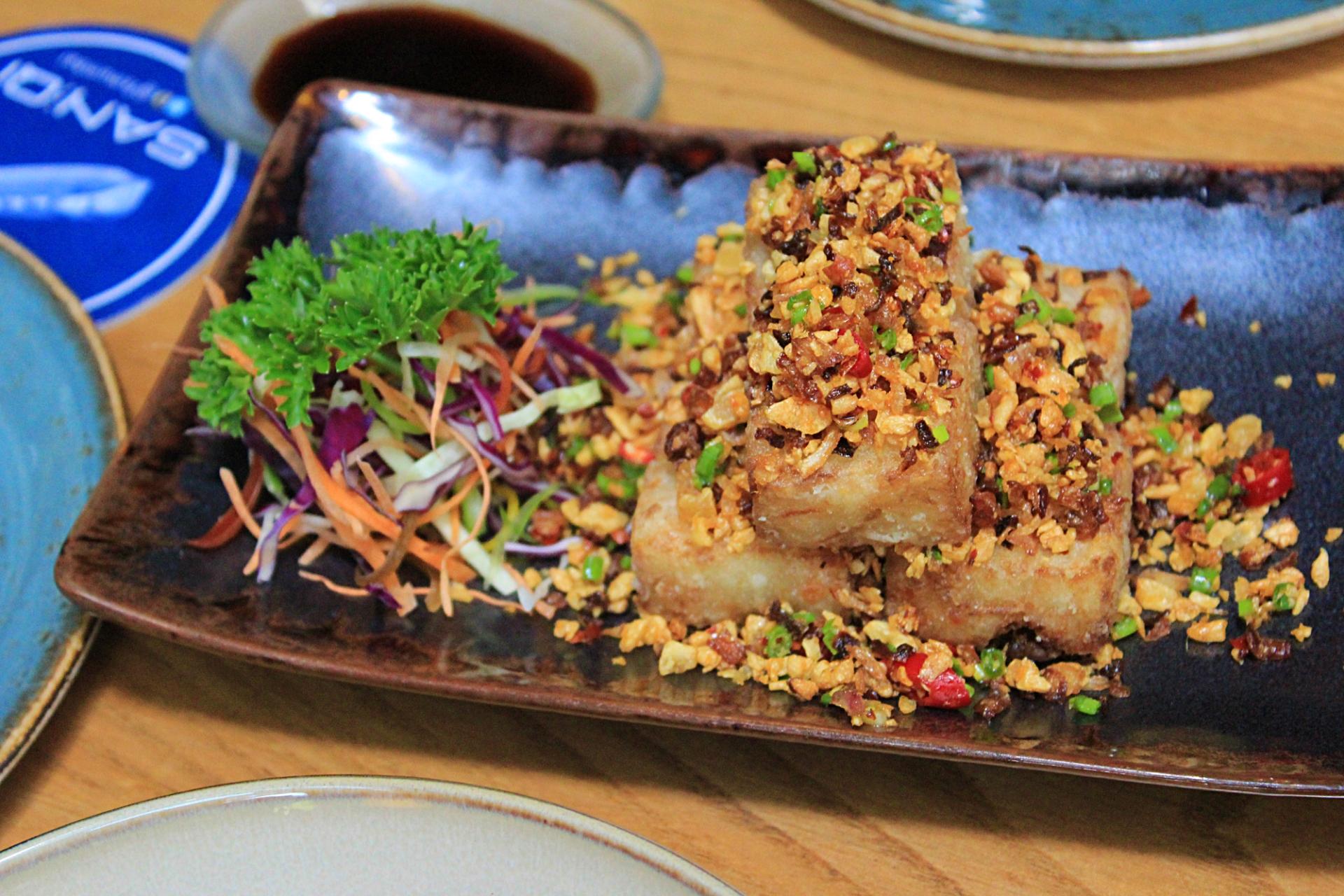 Turnip Cake San Qi