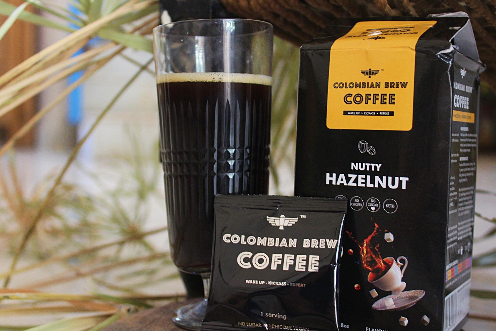Colombian Brew Nutty Hazelnut Coffee