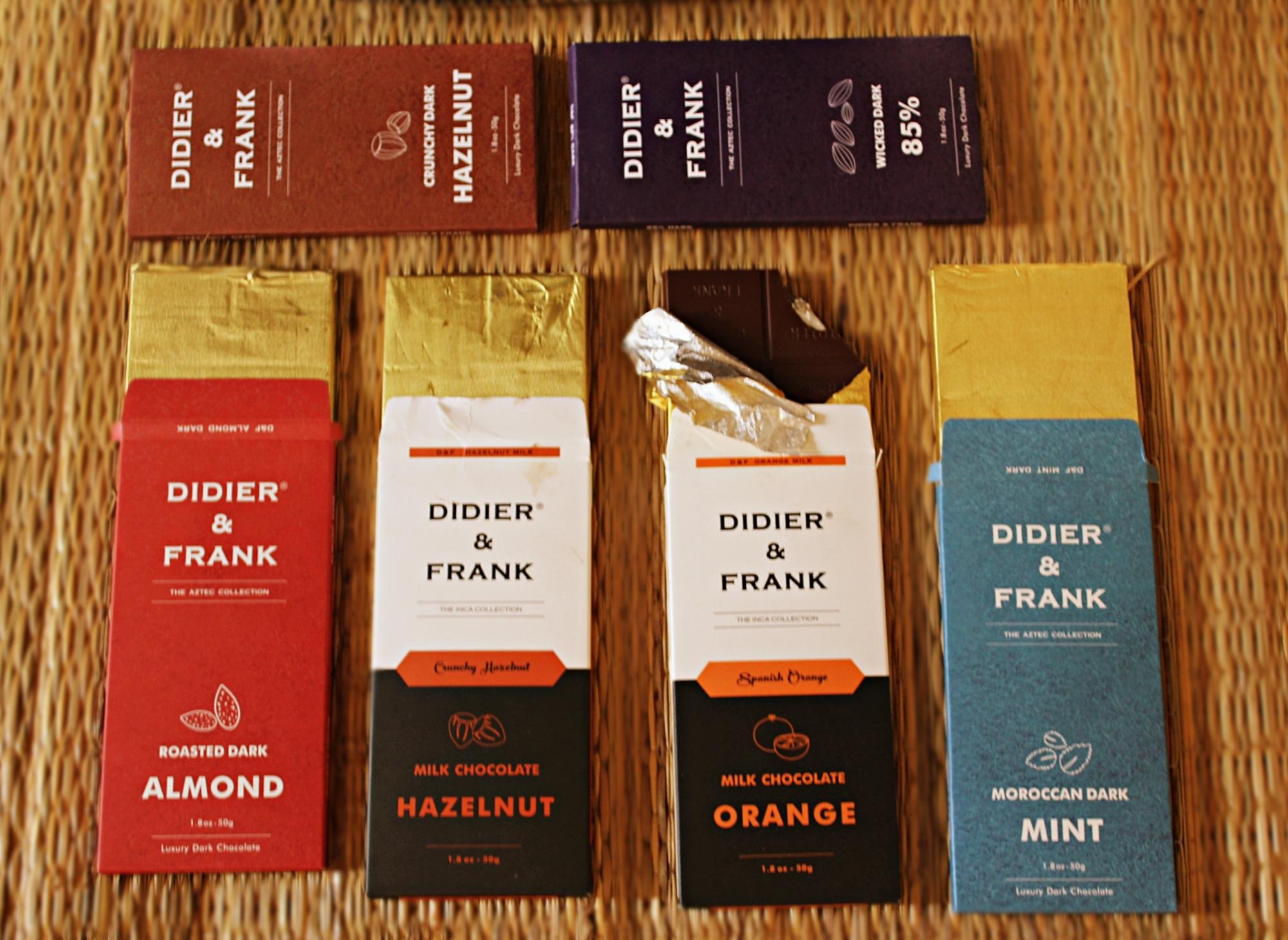 Didier and Frank Dark Chocolate