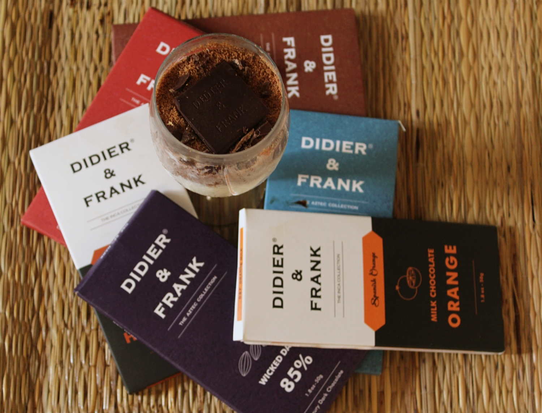 Didier and Frank Dark Chocolates