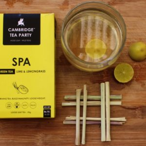 Cambridge Tea Party Lime and Lemongrass