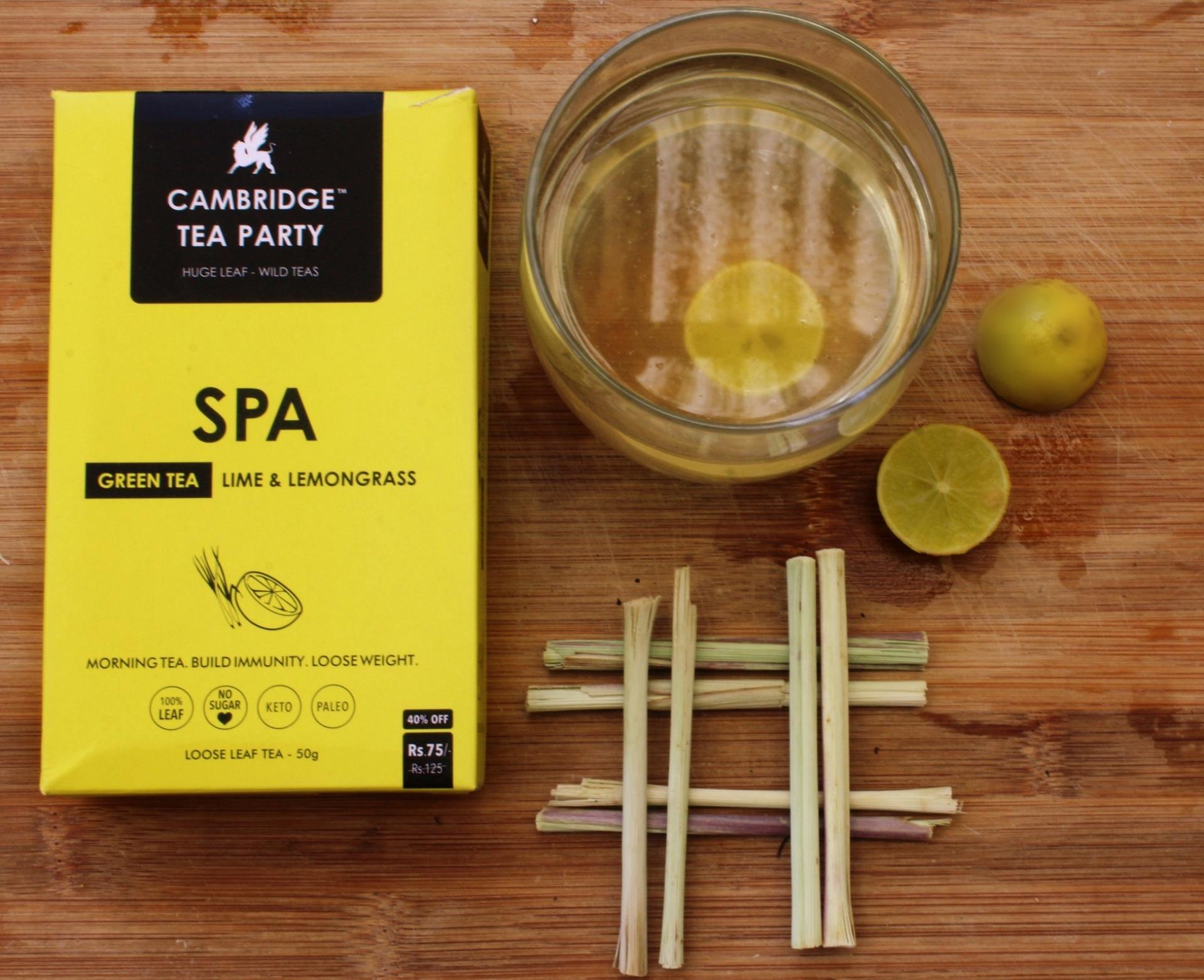Cambridge Tea Party Lime and Lemongrass