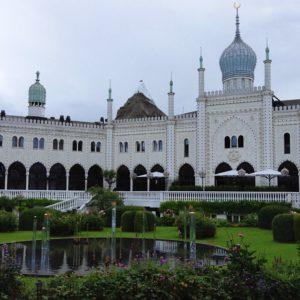 Moorish Palace Tivoli Garden Copenhagen