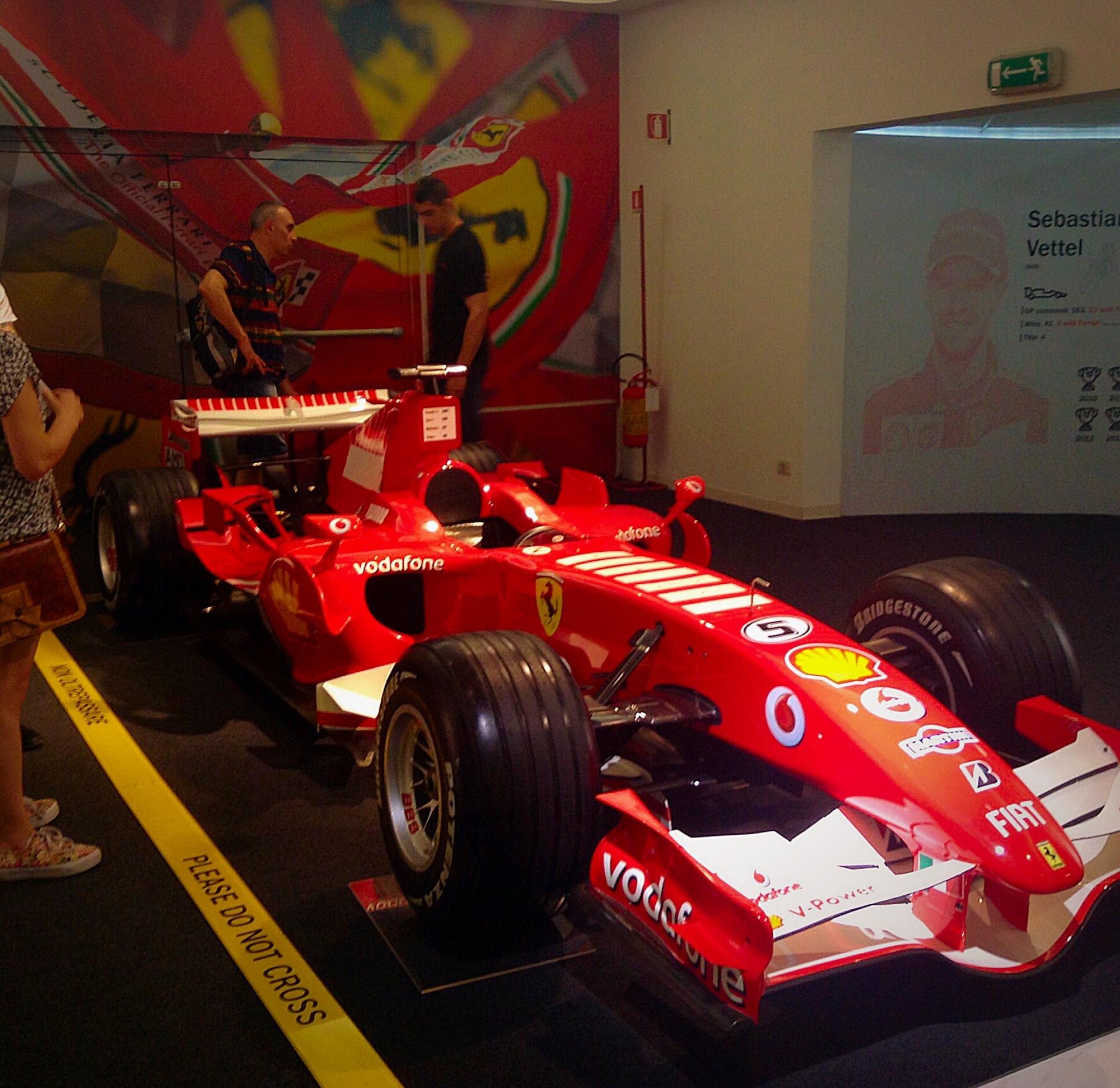 Ferrari Museum Formula1Cars