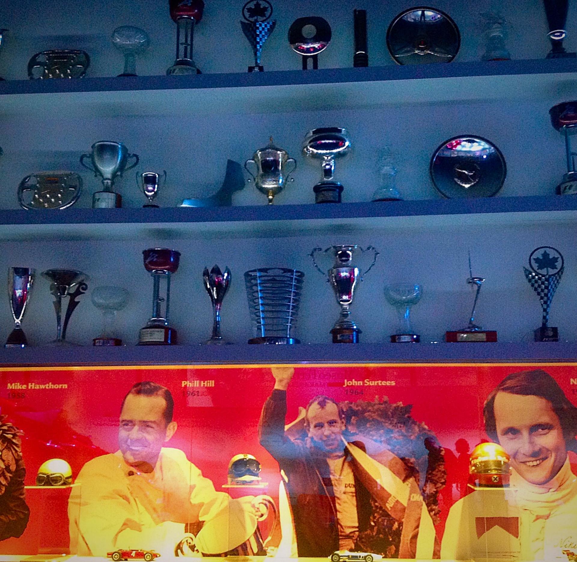 Ferrari Museum Trophies