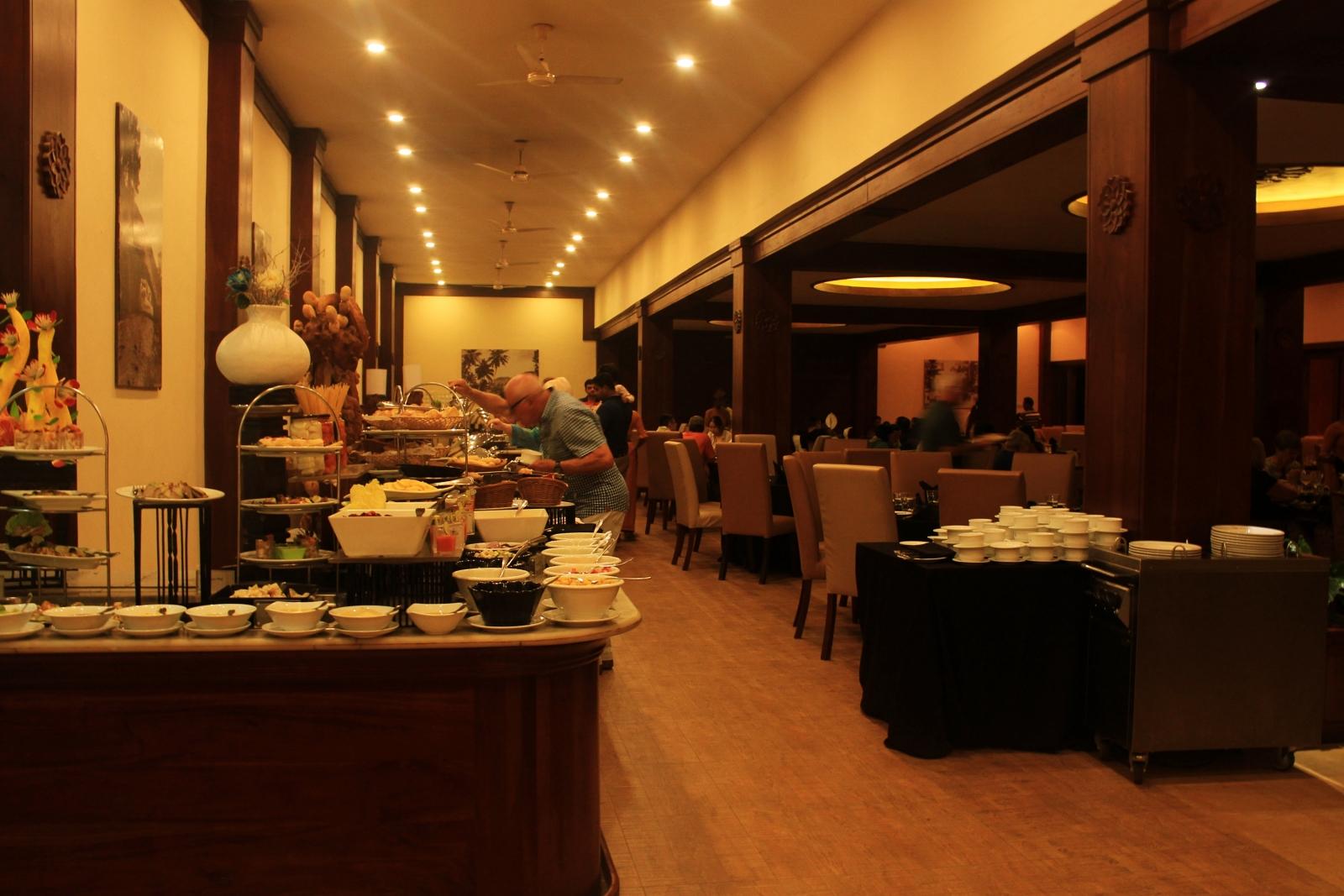 Amaya Hills Resort Dinner