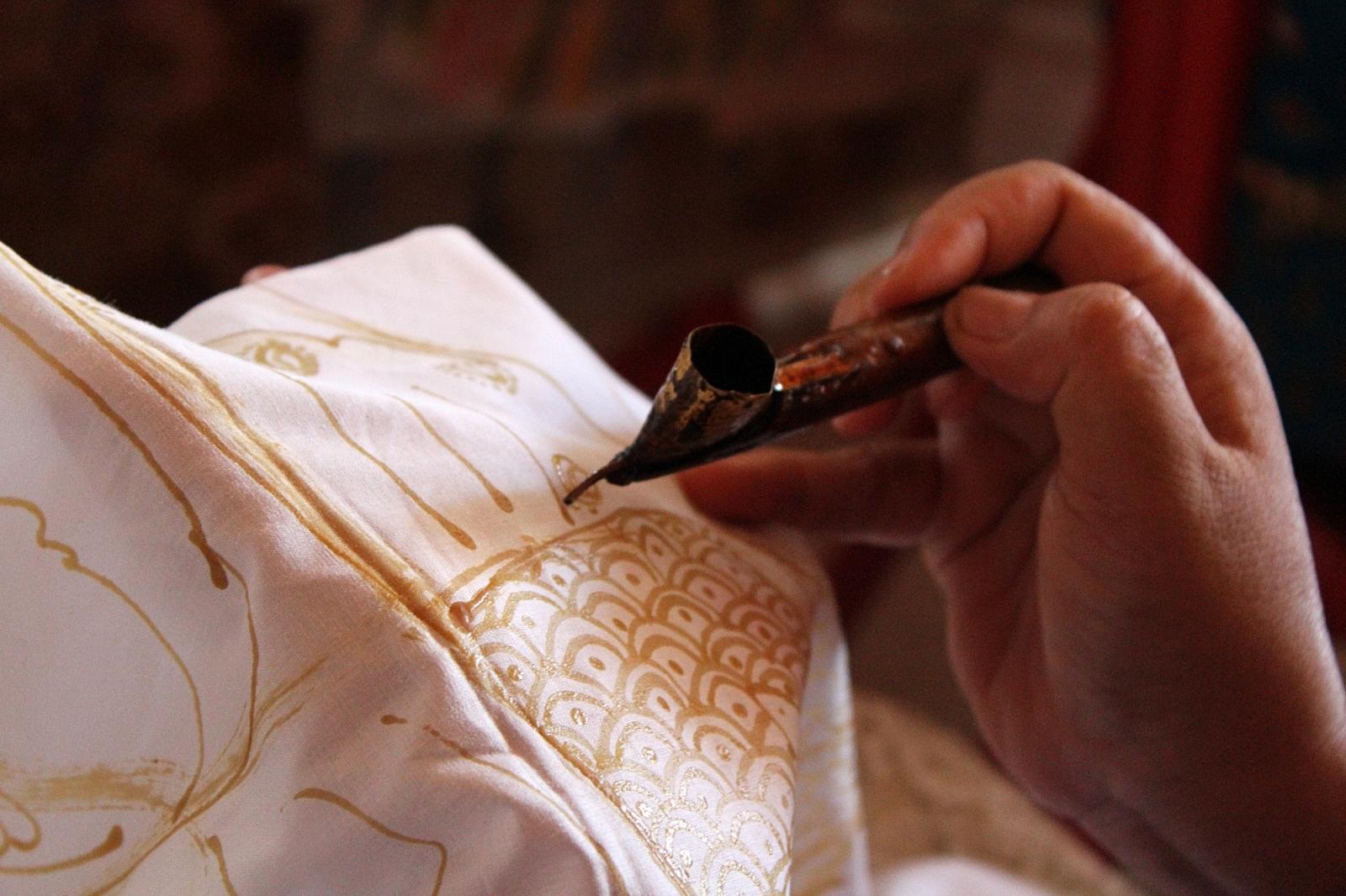 Making of Batik in Bali