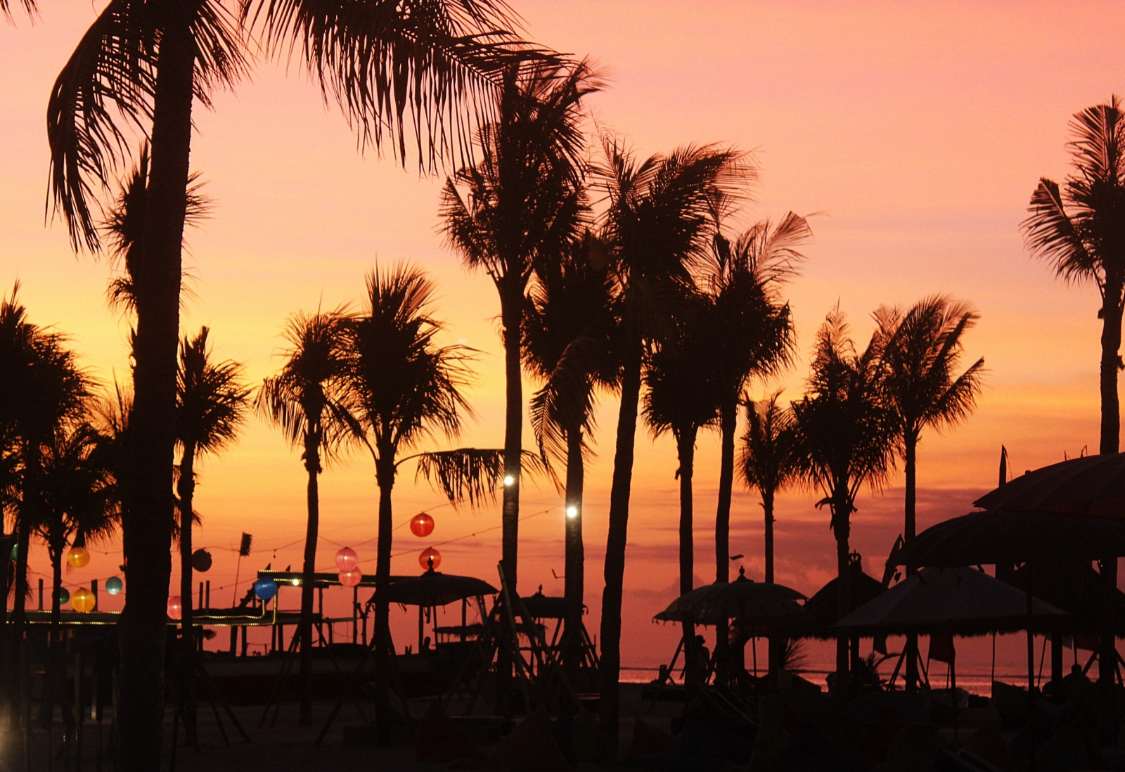 Mahagiri Resort Sunset