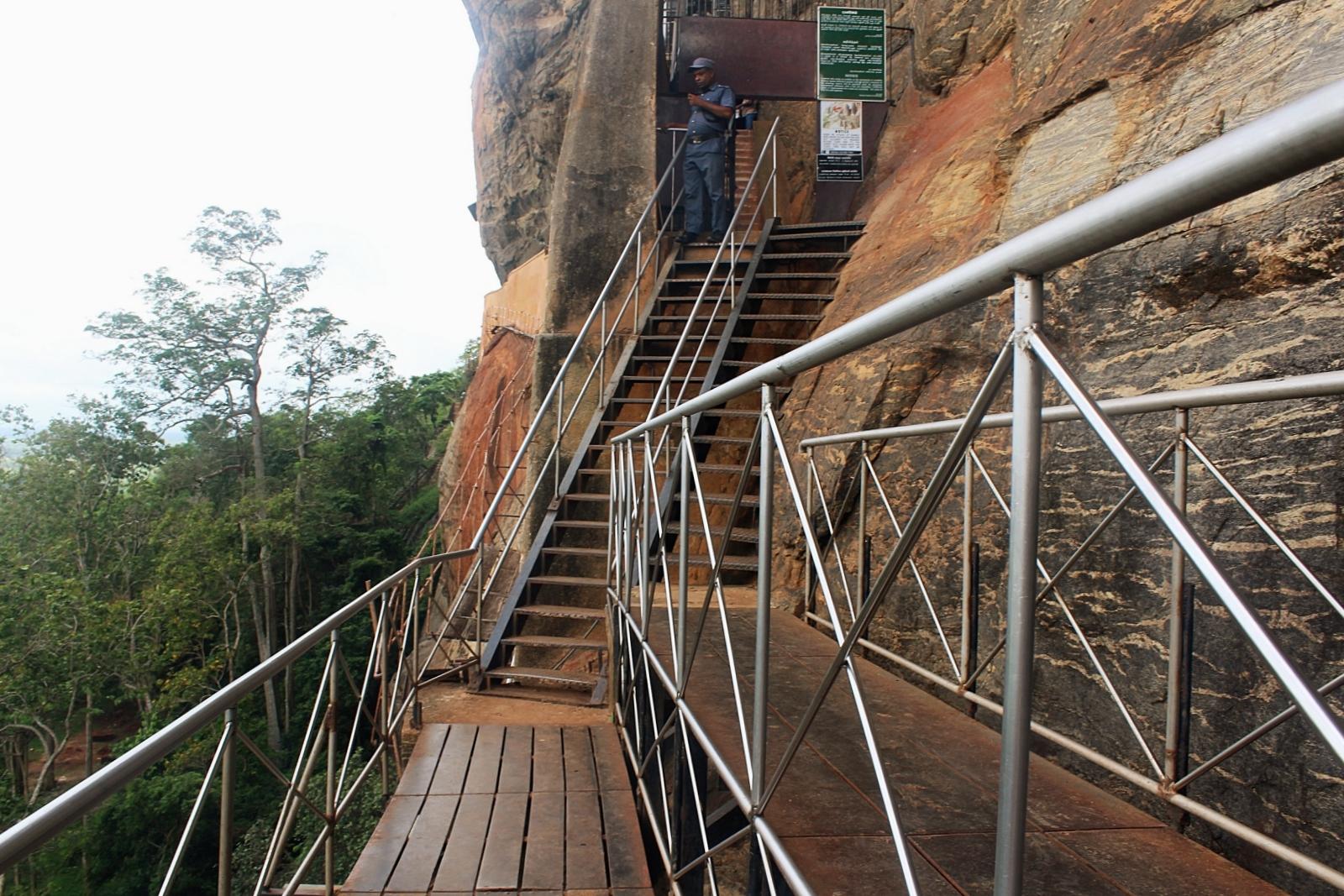 Climb Sigiriya Rock Fortress