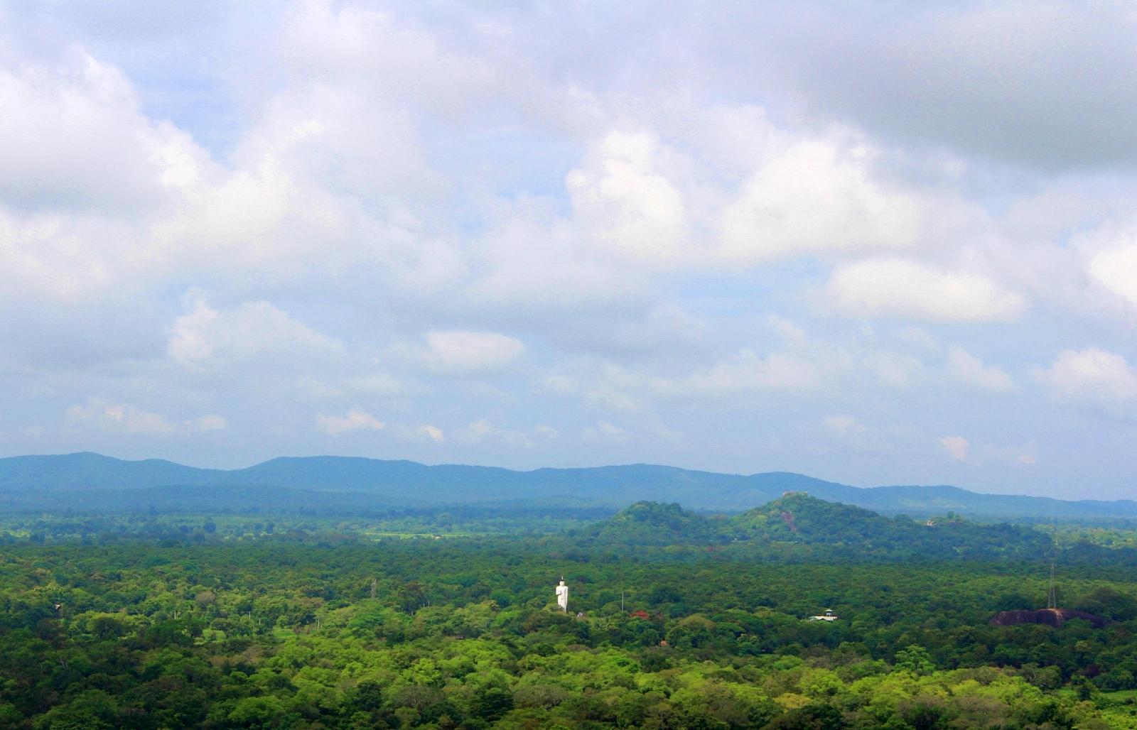 Sigiriya Rock Fort View