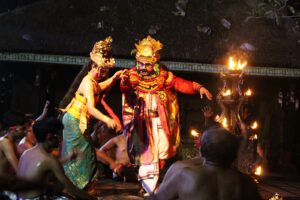Kecak Dance Ravana