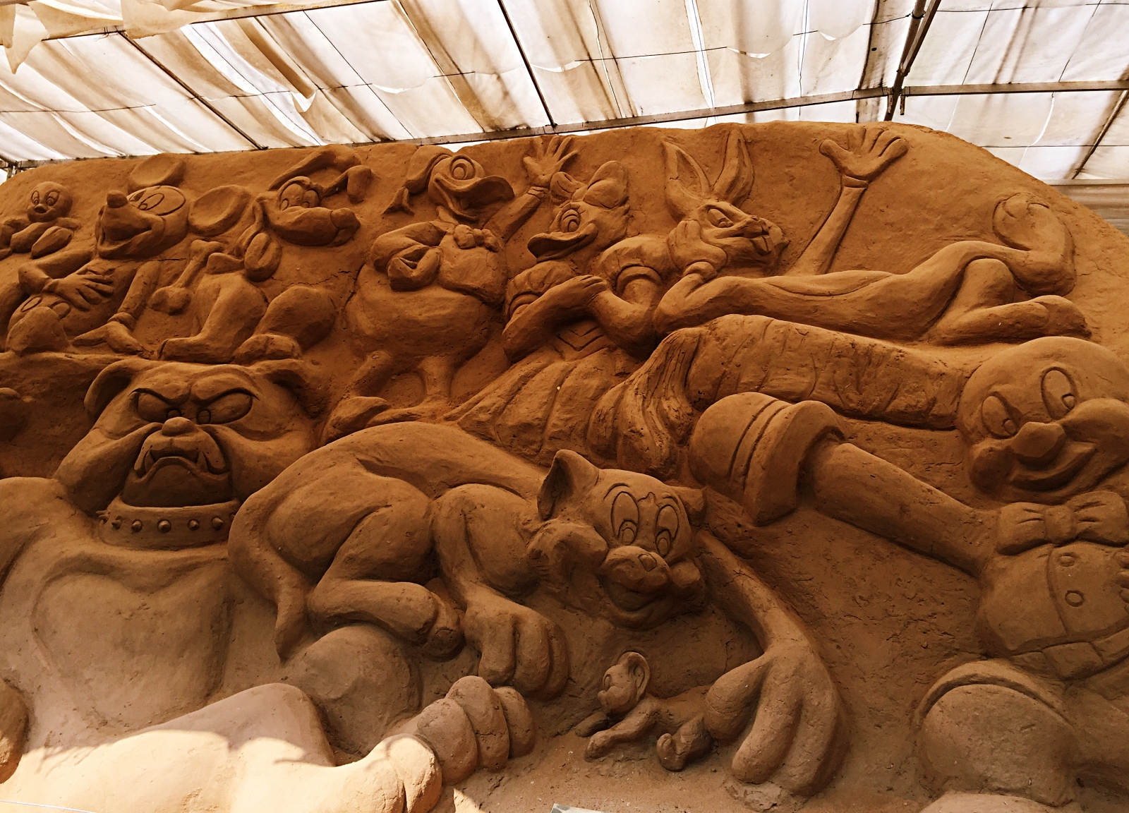 Sand Museum Disneyland