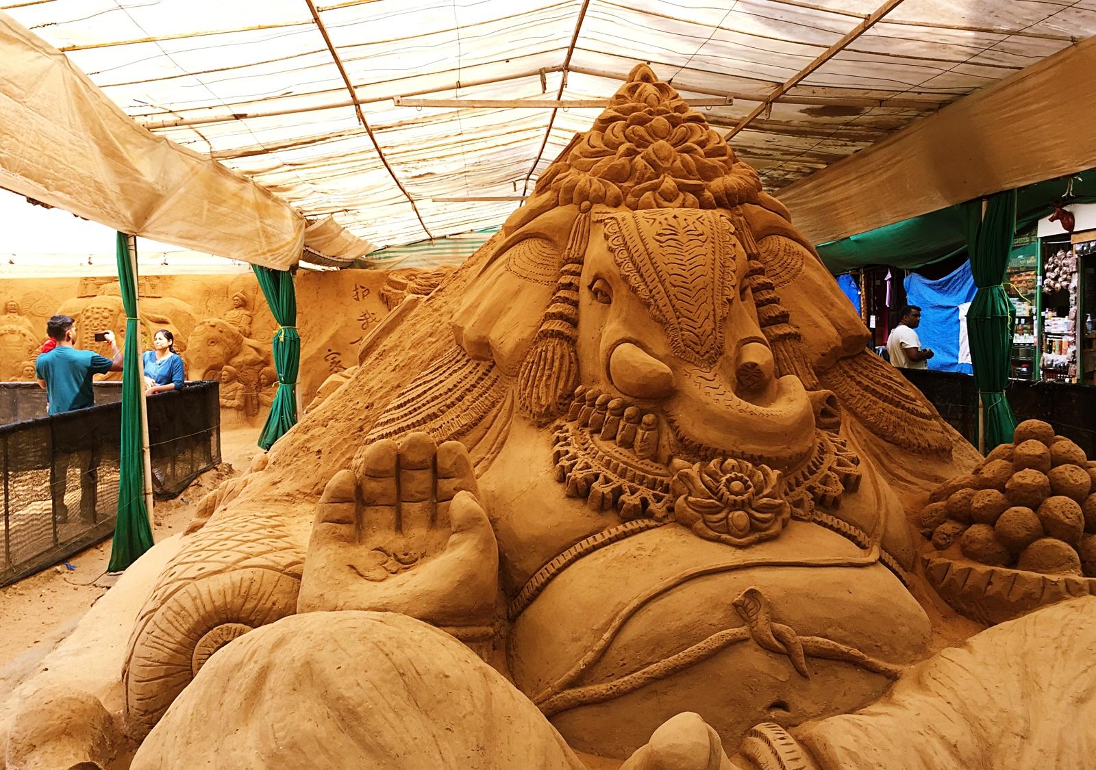 Sand Museum Ganesha