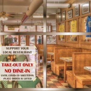 Worldwide Restaurants Social Distancing