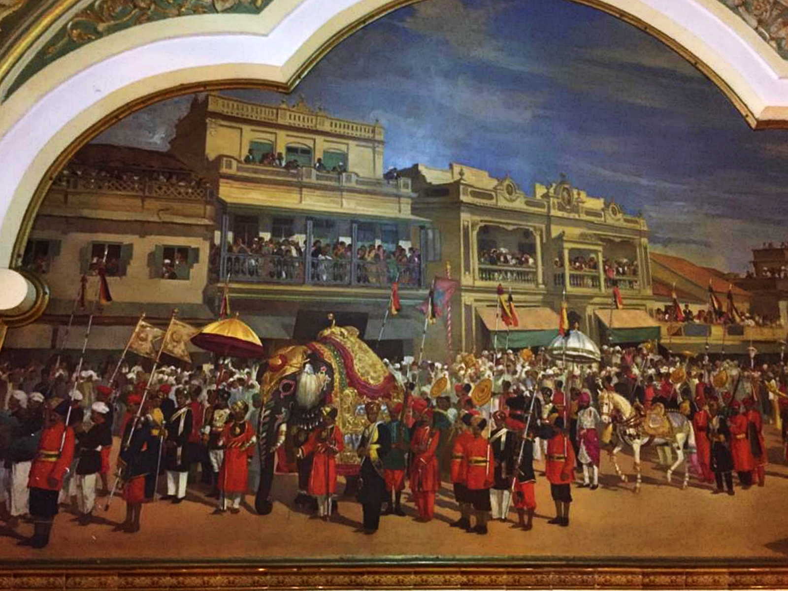 Mysore Palace Paintings