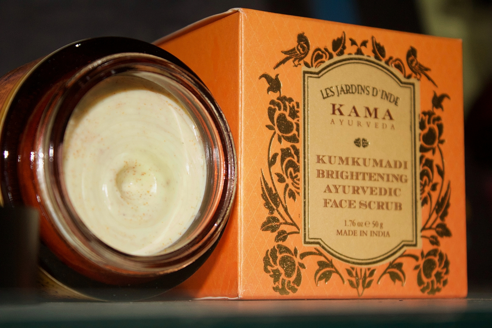 Kumkumadi Brightening Face Scrub