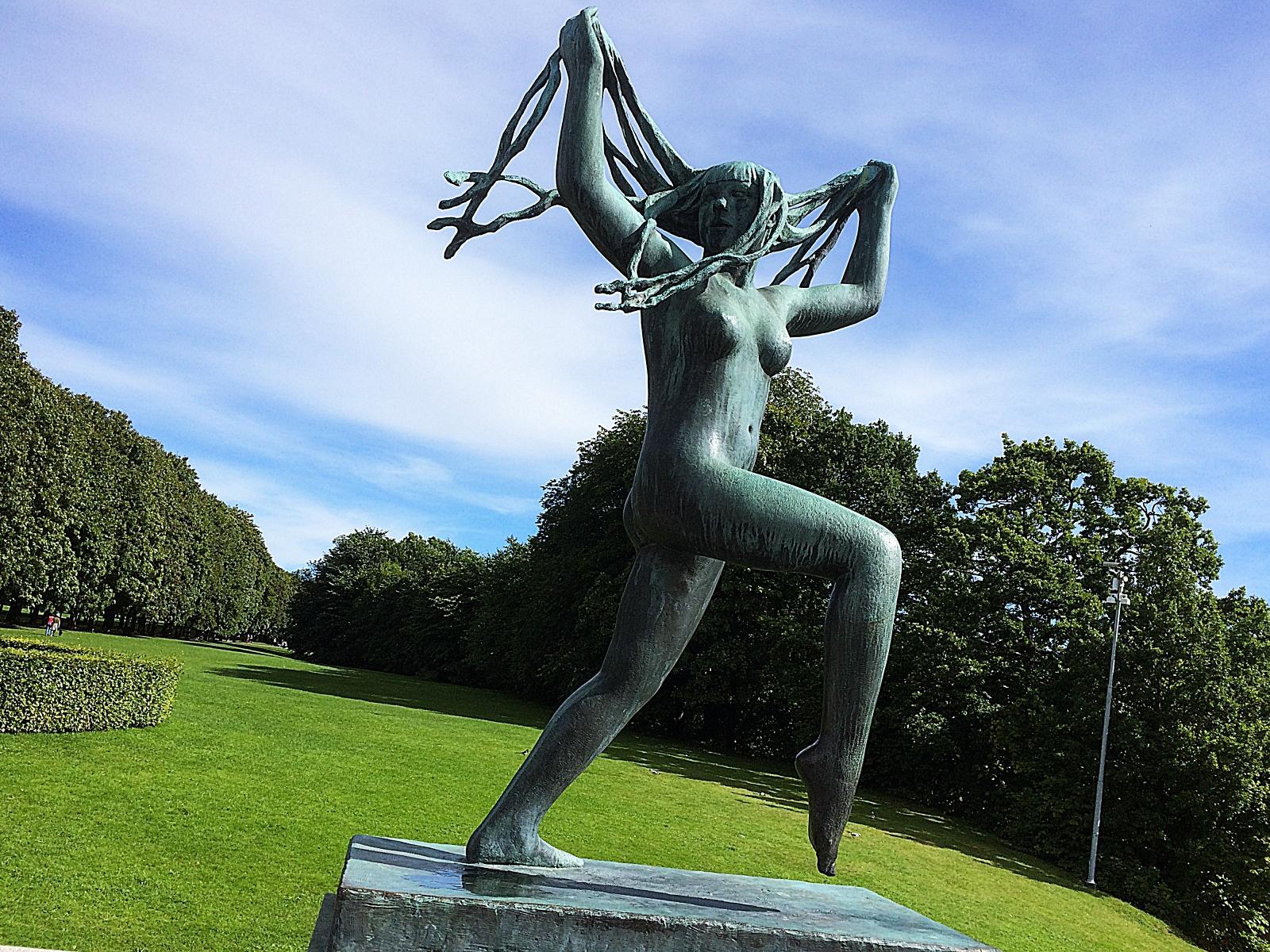 Frognerparken Bronze Statue