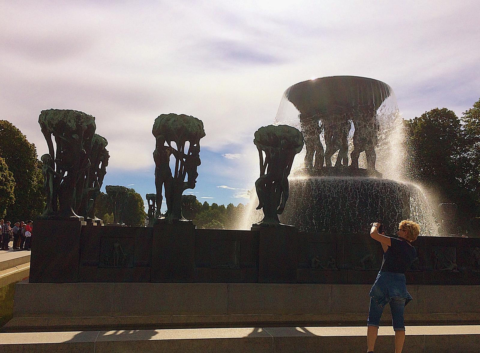 Frognerparken Fountains