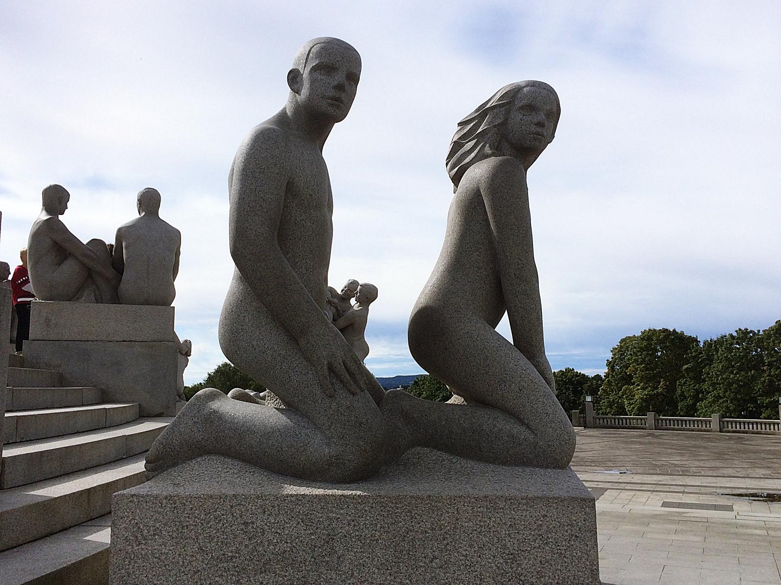 Frognerparken statues