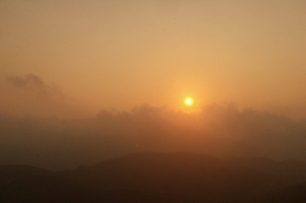 Kudremukh Sunset