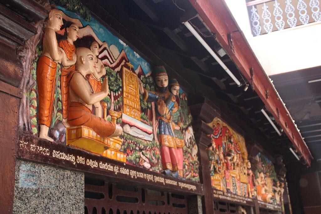 Shree Krishna Temple Wall Carvings